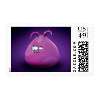 pink postage
