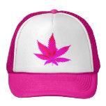 Pink Pot Mesh Hat