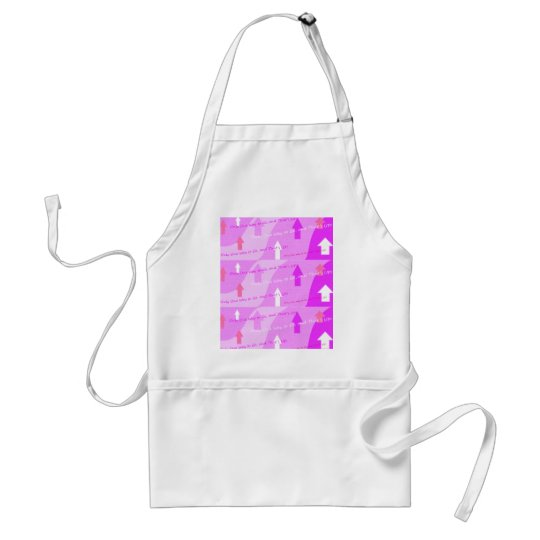 Pink Power Art! Adult Apron