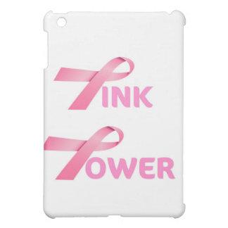 PINK POWER...PINK RIBBON BREAST CANCER AWARENESS iPad MINI COVERS