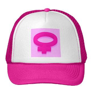 PINK POWER TRUCKER HAT