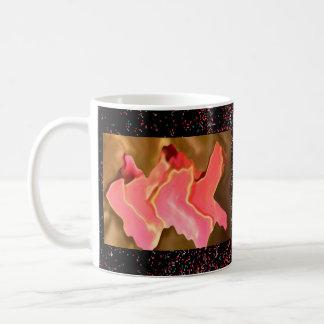 Pink Praise -  Rose Petal Art Coffee Mug