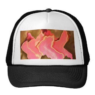 Pink Praise -  Rose Petal Art Trucker Hat