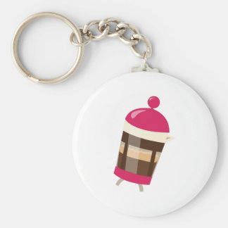 Pink Press Key Chain