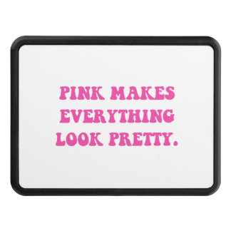 Pink Pretty Hitch Cover