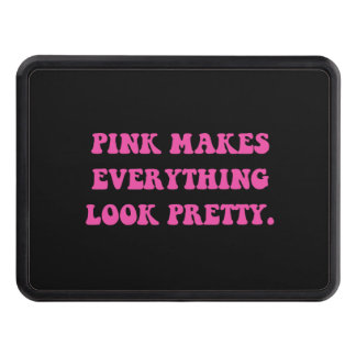 Pink Pretty Hitch Covers