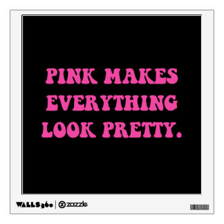 Pink Pretty Wall Sticker