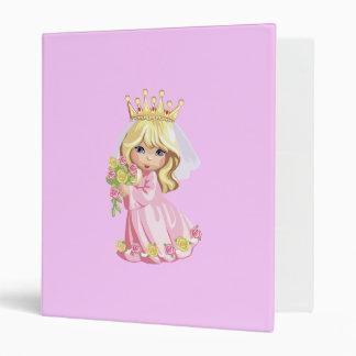 Pink Princess 3 Ring Binder