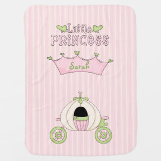 Pink Princess Baby Blanket