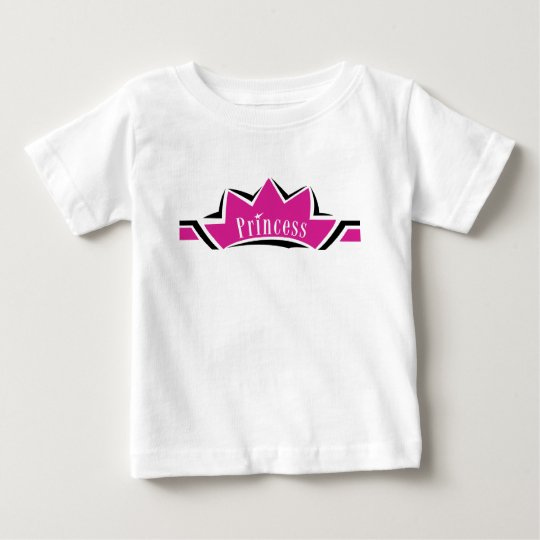 Pink Princess Baby T-Shirt