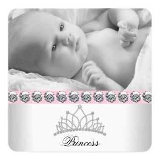Pink Princess Birth Announcements