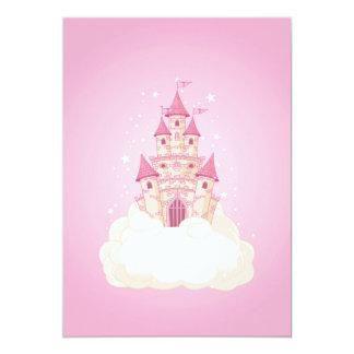Pink Princess Castle Card