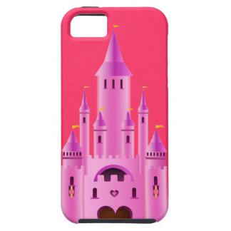 Pink princess castle love dream CaseMate iPhone iPhone 5 Cover