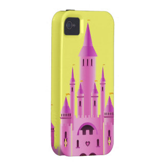 Pink princess castle love dream CaseMate iPhone iPhone 4 Covers