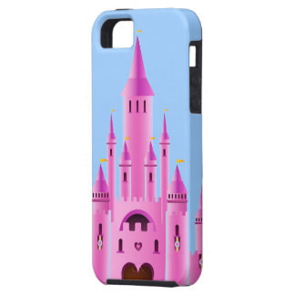 Pink princess castle love dream CaseMate iPhone iPhone 5 Covers