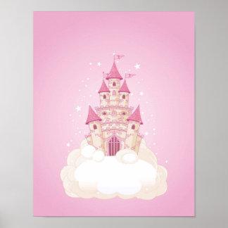 Pink Princess Castle Posters