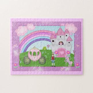 Pink Princess Fairy Tale Puzzle