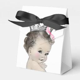 Pink Princess Girl Baby Shower Favor Box