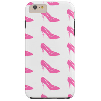 Pink Princess High Heel Shoes iPhone 6 Plus Case