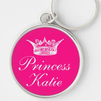Pink Princess Keychain
