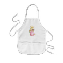 Pink Princess Kids' Apron