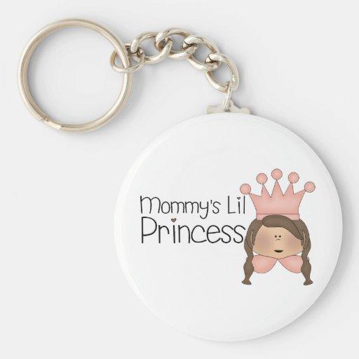Pink Princess · Mommy's Lil Princess Keychain