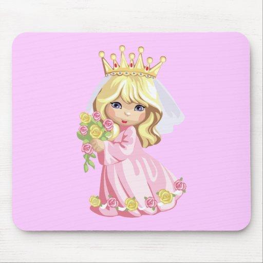 Pink Princess Mousepad