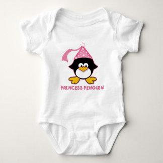 Pink Princess Penguin T Shirts
