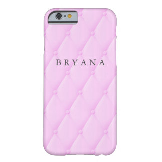 Pink Princess Royal Quilted Look Phone Case Cover