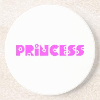 Pink Princess Sandstone Coaster