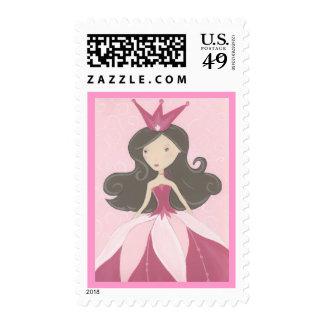 Pink princess stamp