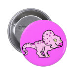 Pink Protoceratops Buttons