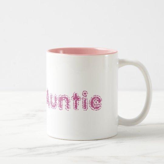 Pink Proud Auntie mug