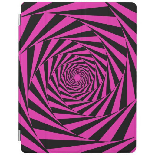 Pink Psychedelic Illusion iPad Smart Cover