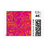 Pink Psychedelic Oil Pattern Stamps