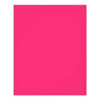 Pink Pucker-Hot Shocking Pink-Uptown Girl-Designer Flyer