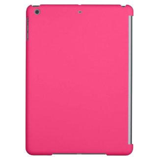 Pink Pucker-Hot Shocking Pink-Uptown Girl-Designer iPad Air Cover