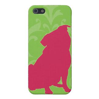 Pink Pug iPhone 5 Case
