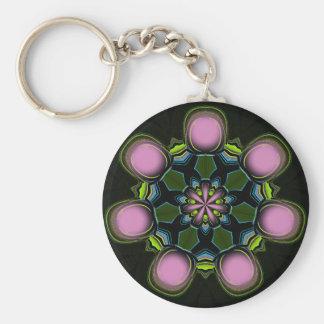 Pink Pulsar Keychain