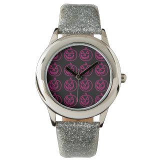 Pink Pumkins Watch