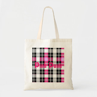 Pink Punk - Pink Plaid Bag