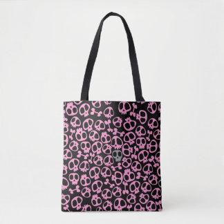 Pink Punk Skull Bag sianelliot