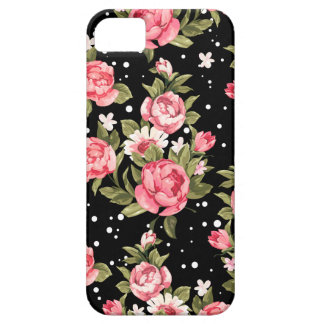 Pink Puny Peonies iPhone 5 Cases