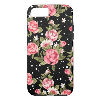 Pink Puny Peonies iPhone 8/7 Case
