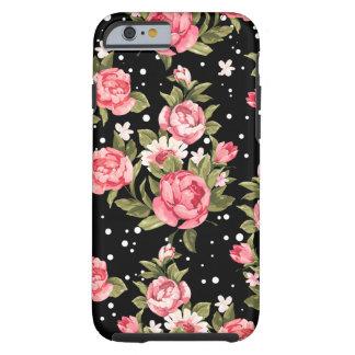 Pink Puny Peonies Tough iPhone 6 Case
