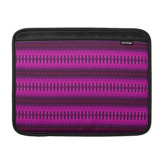 """Pink, Purple and Red Diamond Stripes 13"""" Sleeves For MacBook Air"""