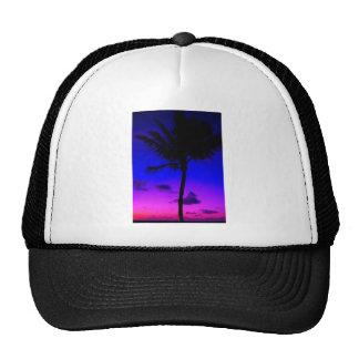 PINK & PURPLE BEACH MESH HATS