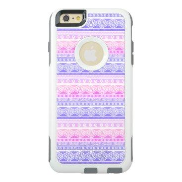 Aztec Themed Pink Purple Blue Aztec OtterBox iPhone 6 Case