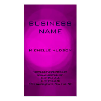 Pink Purple Blue Consultant Business Card