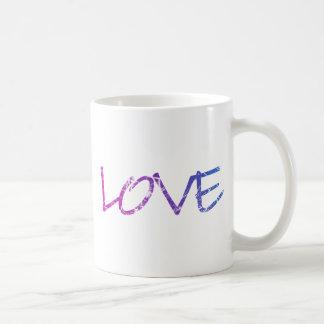 Pink, Purple, Blue Love Vintage Mug